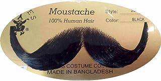 Rubie`s - Handlebar Moustache - Medium Brown