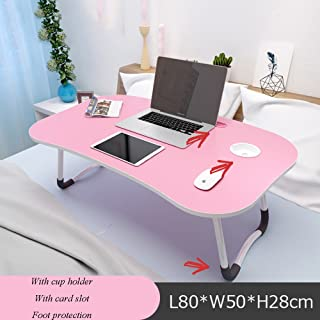XIA Blanco Rosa Profesional Manicura/Uñas/Belleza Móvil Mesa de Uñas Móvil Escritorio Plegable