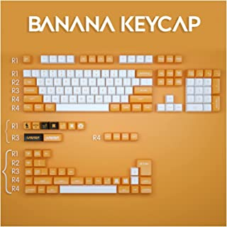 Keycaps FYINGKE 147/117 مفتاح SA. الملف الشخصي كاب الكرة keycaps شخصية الموز keycap للكرز MX. التبديل لوحة المفاتيح الميكا...