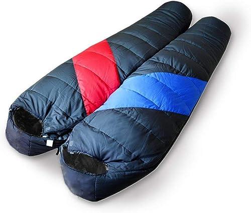 LL Sac De Couchage Adulte Extérieur Intérieur épais Hiver Chaud Camping Sacs De Couchage Coton