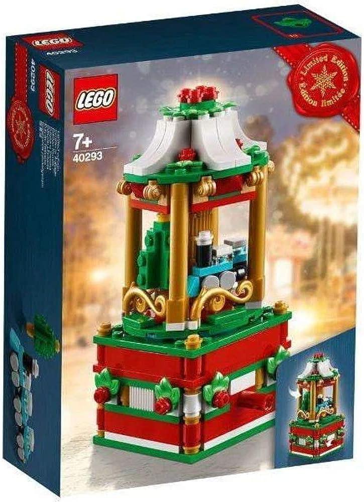 Lego stagionale natalizio christmas carousel 40293