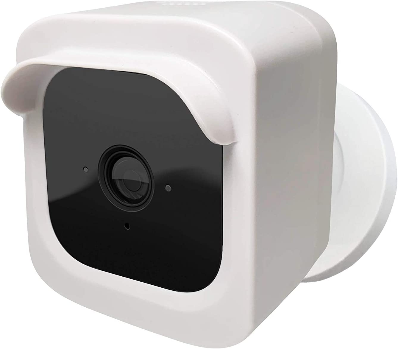 Blink Mini Security Camera Hard Covers Add On (White 1 pcs) - Hard Case for Blink Mini- Blink Mini Cam Housing Accessories for Protection-Blink Mini Camera Covers for Indoor & Outdoor by Sully