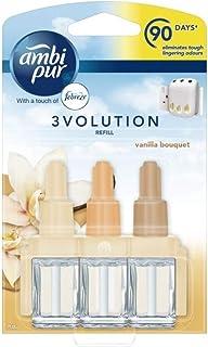 Ambi Pur 3 x 3volution Elektrische Nachfüllung für Lufterfrischer Vanille Bouquet   20 ml