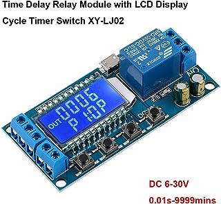 Innovateking-EU Time Delay Relay 12V 5V Módulo de relé USB 6-30V Interruptor