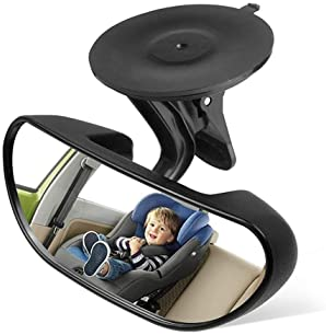 Backseat Mirror Baby Mirror for Car Rear View Mirror Car Seat Mirror for Infant toddler with 360 Degree Adjustable St...