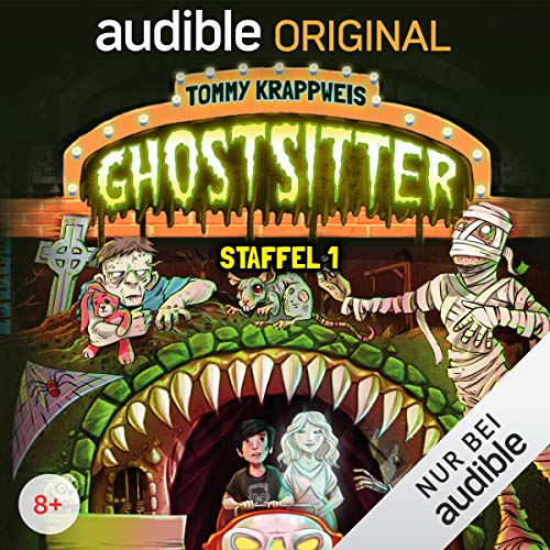 Ghostsitter: Die komplette 1. Staffel cover art