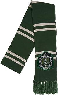 Harry Potter Slytherin Patch Knit Scarf, OSFM, Green