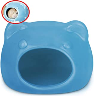 ルボナリエ ハムスター トイレ 家 ブルー すなあび ハムスタートイレ 砂浴び お部屋 小動物 ハウス (ブルー)
