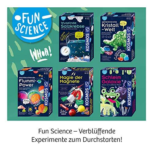 KOSMOS 654160 – Wuselnde Salzkrebse – Experimentierset für Kinder - 10