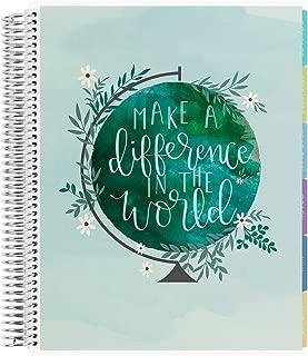 Erin Condren 12-Month 2019-2020 Teacher Lesson Planner 8.5x11 (September 2019-August 2020) - Make a Difference