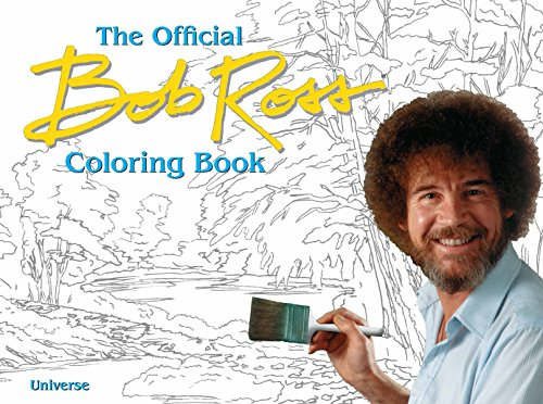 The Official Bob Ross Coloring Book (Paperback, 96-Pages) $6.35 + Free Shipping w/ Prime or $25+