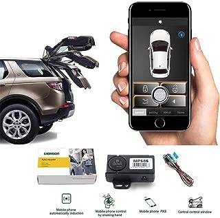 Auto Smartphone Remote Control Locking Kit,Smart Key 2 Way Lgnition Trunk Control/Unlock Shaking Hand Mobile Phone APP Keyless Entry Car Alarm System
