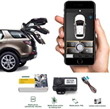 Auto Smartphone Remote Control Locking Kit,Smart Key 2 Way Lgnition Trunk Control/Unlock Shaking Hand Mobile Phone APP Keyless Entry Car Alarm System