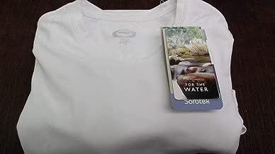 KDA Dye Sublimation Sorbtek Vapor Apparel White Short Sleeve Crew Neck Small
