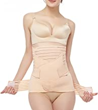 3 in 1 Postpartum Support - Recovery Belly Wrap Girdle Support Band Belt Body Shaper