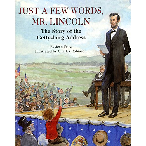 Just a Few Words, Mr. Lincoln audiobook cover art