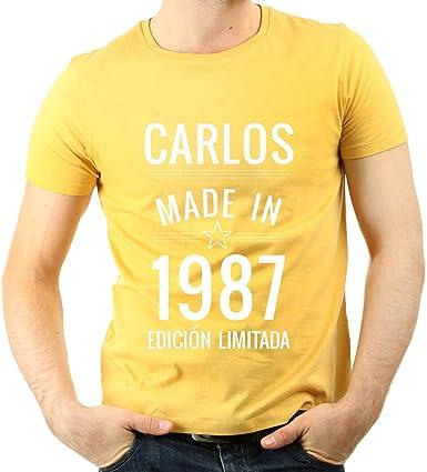 Regalo Personalizado para Hombres: Camiseta Made in ...