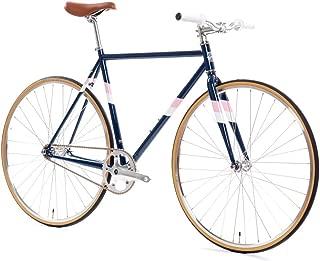 Core-Line 4130 State Bicycle | Fixed Gear/Single Speed Bike | Riser Bar