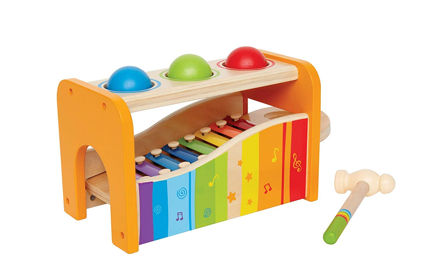 Hape Pound Bench Slide Xylophone
