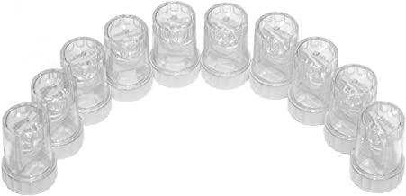 Sports Vision's Contact lens Cases - Standard Barrel Type 10 Pieces CE Marked & FDA Approved