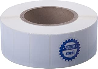 Kenco Premium Inkjet 2 X 1 Rectangle High Gloss Paper Roll-Fed Inkjet Labels. Compatible with Primera Color Label Printers and Many Other Printer Brands. Supplied 2475 Labels on a 3 core.