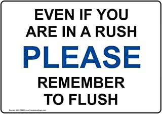 Best please remember to flush Reviews