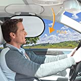 WANPOOL 自動車の屋根に手すり遮光板が内蔵され、運転手を太陽光による眩しさから保護し、且つ運転の妨げにならない日除けを提供しています