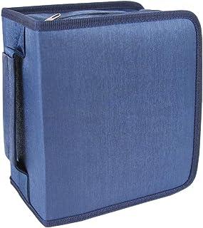 Fanspack Porta CD Archivador CD Estuche para CD Estuche de Almacenamiento portátil para Discos multipropósito de 256 capac...