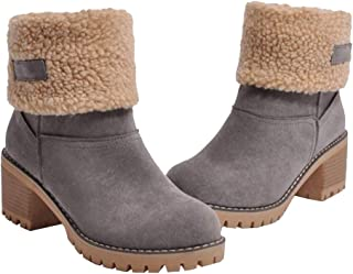 fur fold over boots