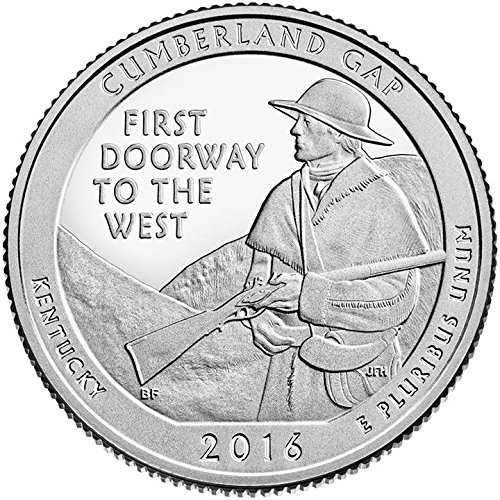 2016 D Bankroll of 40 – Cumberland Gap, KY National Park Quarter Uncirculated