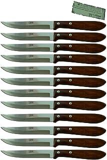 Cuchillos de Mesa Madera Celaya Filo Lote 12 Uds.
