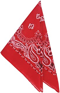 Rhode Island Novelty Two Dozen Red Cowboy Bandanas