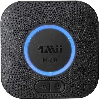 [Upgraded] 1Mii B06 Plus Bluetooth Receiver, HIFI Wireless Audio Adapter, Bluetooth 5.0 Receiver with 3D Surround aptX Low...