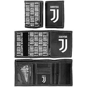 JUVENTUS Portafoglio Juve Originale Ufficiale a Strappo Velcro BORSELLINO Enzo Castellano PORTAFJU131569