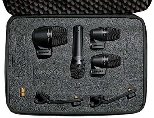 Shure PG ALTA Drum Kit 4-Stück-Trommel-Mikrofon-Bundle