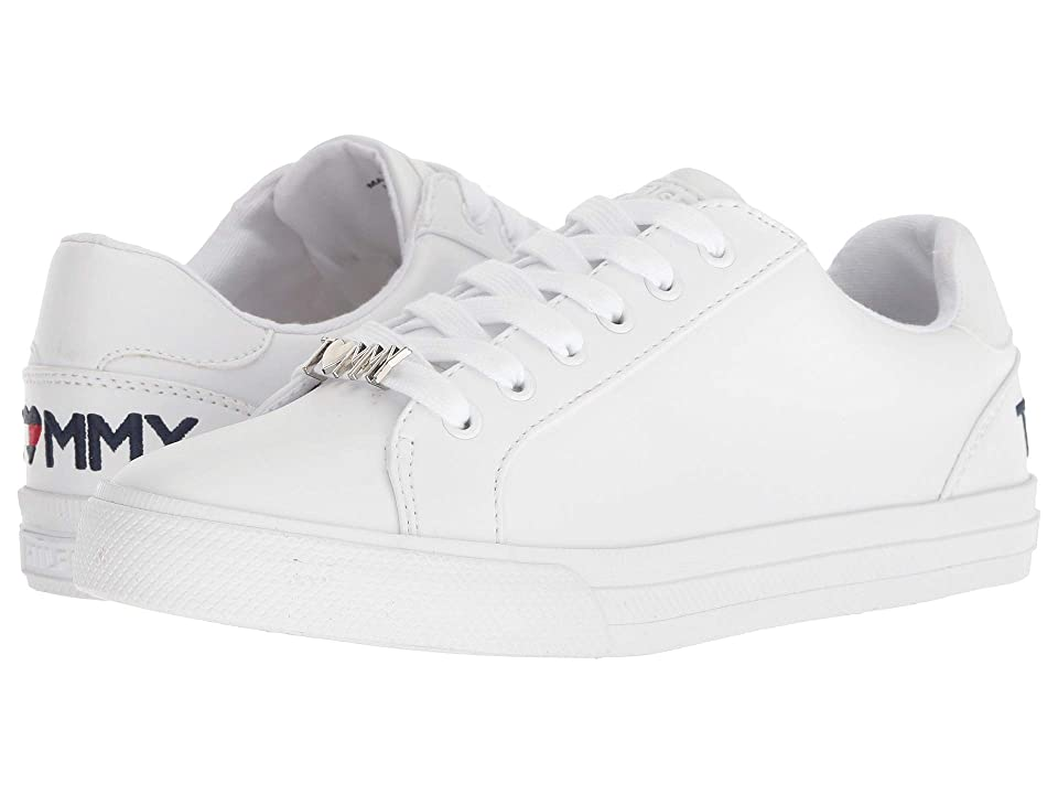 63b8d5d804bf Tommy Hilfiger Alune (White) Women s Shoes