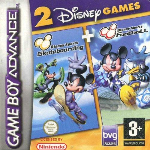 Disney Sports Football and Disney Sports Skateboarding - Twin Pack (GBA) [Importación inglesa]