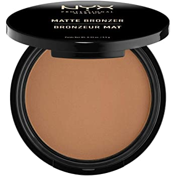 NYX Professional Makeup Matte Bronzer, Polvere compatta, Shimmer Free, Deep Tan