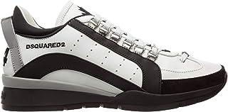 DSQUARED2 Sneakers 551 in Pelle e camoscio