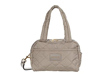 Marc Jacobs Quilted Nylon Small Bag (Cement) Duffel Bags