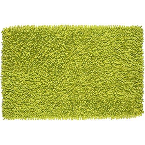 MSV Tapis Coton Vert 60 x 40 cm