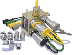 Manual Hydraulic Multiplier Diverter Valve Kit for John Deere Sub Compact Tractors