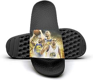 SDACZDSC Slides Shoes Sandals Slippers Flatextra-Soft Mens Basketball starSuper Cheer