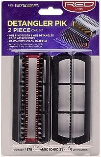 Red by Kiss Detangler Pik 2 Piece Comb Set for BD02U model PIK9