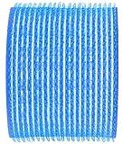 Fripac-Medis Le Coiffeur - Rulos (6 unidades, diámetro de 78 mm), color azul oscuro