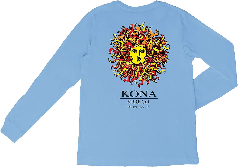 KONA SURF CO. Original Sun Vintage Washed Boys LS Shirt
