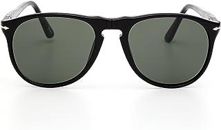 c73c85c4a282 PERSOL Men 9649S Sunglasses, Black 95/31, 52