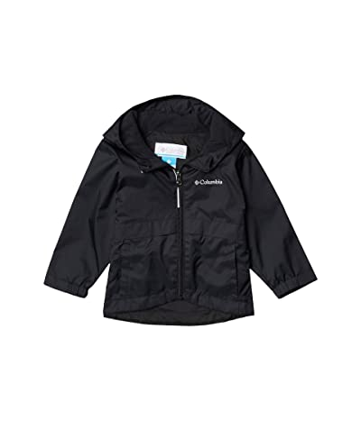 Columbia Kids Rain-Zillatm Jacket (Toddler) (Black) Girl