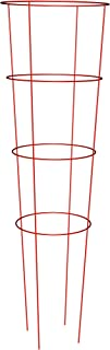 Panacea Products 89754 Heavy Duty Tomato Cage and Plant Support, 54 by 16-Inch, Red
