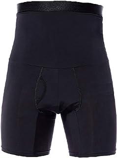 Men's Body Shaper Tummy Control Slimming Shapewear Shorts High Waist bdomen Trimming Boxer Brief Stretch Pants Underwear B...